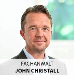 Anwalt für Verkehrsrecht – John Christall